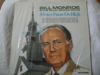 BILL MONROE & HIS BLUE GRASS BOYS A VOICE FROM ON HIGH VINYL LP MCA RECORDS EX