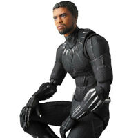 Chadwick Boseman-Black Panther Cartoon Toy Action Figure Model Highly Detailed