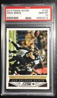2013 Panini Score 130 DREW BREES PSA GEM MINT 10