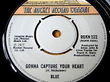 """BLUE - GONNA CAPTURE YOUR HEART  7"""" VINYL"""