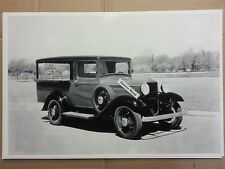"""12 By 18"""" Black & White Picture 1932 FORD CANOPY EXPRESS TRUCK"""