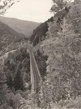 orig.foto env. 9 x 14cm Höllentalbahn Ravenna viaduc (g2417)