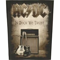 AC/DC ACDC Patch In Rock We Trust Backpatch