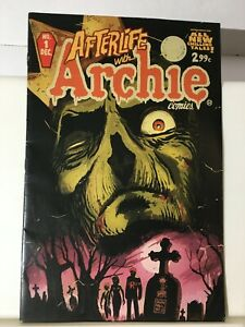 Afterlife with Archie  1st print Francavilla cover 2013 All new Chilling Tales