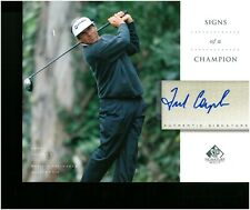 New listing FRED COUPLES 2004 SP Golf Signs Of a Champion Autograph 8x10 Upper Deck #X29