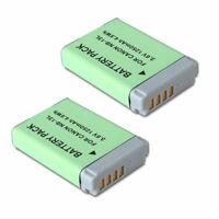 2 Battery for Canon Powershot SX620 HS SX720 HS SX730 HS SX740 HS 1250mAh NB-13L