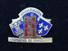 PIN'S / Badge - SIMEX - MILITARIA GENDARMERIE COMPAGNIE DE VINCENNES - TOP !