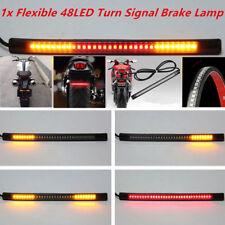 New Flexible Motorcycle 48LED Light Strip Rear Tail Brake Stop Turn Signal Lamp