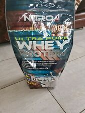 2.75kg Nitro ultra whey protein powder - milk chocolate