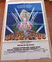 The Day of the Locust Movie Poster, Original, Folded, One Sheet, year 1975, USA