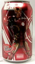 """MT UNOPEN Dr. Pepper Limited Edition """"Avengers Age of Ultron"""" Iron Man USA 2015"""
