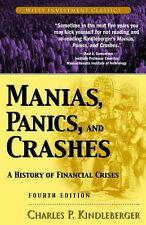 MANIAS, PANICS, AND CRASHES: A HISTORY OF FINANCIAL CRISES., Kindleberger, Charl