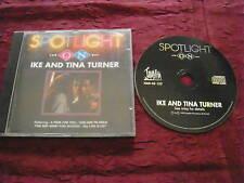 Spotlight On Ike & Tina Turner RARE UK 1993 CD Soul R&B