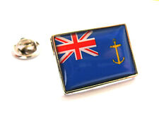 UK Royal Fleet Auxiliary Ensign Flag Lapel Pin Badge