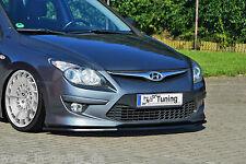 Spoilerschwert Frontspoilerlippe Cuplippe aus ABS für Hyundai i30 FD mit ABE