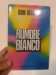 Don Delillo Rumore Bianco Prima Edizione Pironti 1987 Copertina Psicadelica