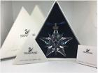 Swarovski Crystal 2001 Christmas Star Snowflake Ornament EAN 267941 BNIB + Cert