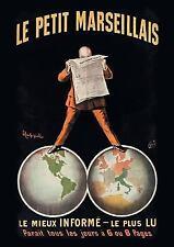 Carnet Affiche Journal le Petit Marseillais by Cappiello-L (2015, Paperback)