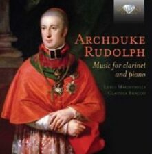 Archduke Rudolph: Music for clarinet and piano, New Music