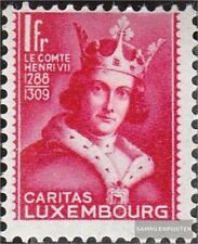 Luxembourg 254 with hinge 1933 Children's Aid