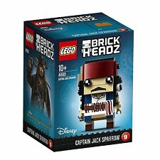 LEGO Brickheadz 41593 Capitano Jack Sparrow personaggio Disney Brick Headz #09