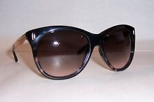 NEW JIMMY CHOO SUNGLASSES ALLY/S BLACK CORAL/BROWN MXB-K8 AUTHENTIC