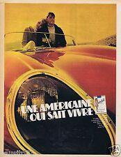 Publicité Advertising 096 1967 Chesterfield cigarettes une américaine