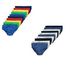 Boys Briefs George 10 Pack 100/% Cotton Underwear Kids Pants Ages 18M to 10 Years