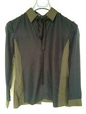 PRADA Seiden Bluse 32 (it 38) mit Schleife, Neu. PRADA Silk Bow Blouse