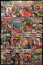 King Conan #1-38 (Lot of 16) Bronze Age Marvel Comics - Roy Thomas Buscema 🔥🔥