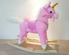 Unicorn Pink Rocking Horse - Sounds & Music NEW Amazing Funny Stunning