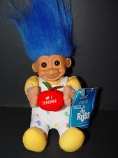 "Troll Doll 6"" Russ Plush SoftBody #1 Teacher  w/tag"