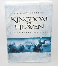 Ridley Scott Film Kingdom Of Heaven 4 DVD Disc Director's Cut Movie SEALED NEW