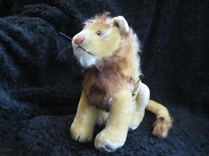 Rare 1958/74 German Steiff XL Lion ! Leo !