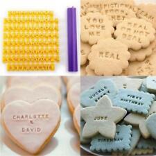 Tampons ALPHABET chiffres signes pour Patisserie, pâte à sucre, savon, argile...