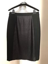 Halogen Pencil Skirt Block Back Slit Classic Black Size 0