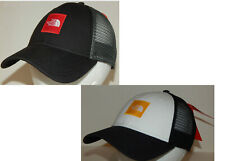 The North Face Trucker Hat / Cap Black/Red or White/Yellow Adjustable  Snapback