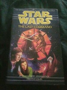 Last Command Hardcover Timothy Zahn