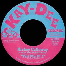 "Rickey Calloway & The Crack Mirrow Band - 'Tell Me Pts. 1 & 2' (7"")"