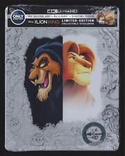 DISNEY THE LION KING 4K ULTRA HD DVD + BLU-RAY + DIGITAL HD BEST BUY STEELBOOK