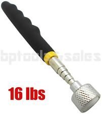 """16LB TELESCOPING MAGNETIC PICK UP TOOL STAINLESS STEEL 25.5"""" EXTENSION HEAVYDUTY"""