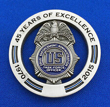 Drug Enforcement Administration Task Force Officer DEA TFO Police Challenge Coin
