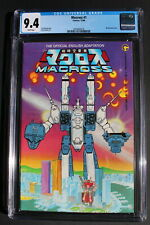 MACROSS #1 ROBOTECH Saga COMICO 1984 SONY Live MOVIE Franchise CGC NM 9.4