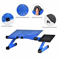 Table Stand Portable Foldable Adjustable Laptop Desk Computer Tray For Sofa Bed