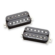Seymour Duncan SH-4/SH-2 JB & Jazz Hot pilonné Humbucker Pickup Set (Noir)
