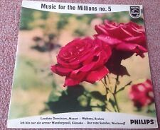 PHILIPS MINIGROOVE 422 530 NE MUSIC FOR THE MILLIONS NO.5 1E/2E HOLLAND PIC EXC