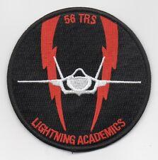 "USAF Patch 56th TRAINING SQUADRON, F-35 LIGHTNING, 4"" Size, Morale, Luke AFB, AZ"