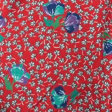 """Vintage Floral Pattern Cotton Polyester Blend Fabric 58""""x320"""""""