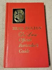 OLD MR BOSTON DE LUXE OFFICIAL BARTENDER'S GUIDE 1965 Book 31st Print Leo Cotton