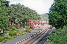 PHOTO  WINCHCOMBE RAILWAY STATION GLOUCESTER RESTORED 2009 VIEW NW TOWARDS TODDI